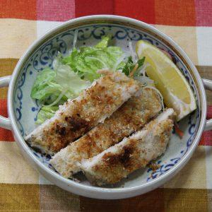鶏胸肉のパン粉焼き vol.37